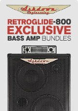 Ashdown Retroglide-800 Exclusive Amp Bundles
