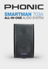 Phonic Smartman 703A 1100 All-In-One Audio System