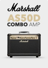 Marshall AS50D akustični Combo Ojačevalec, Limited Edition Black