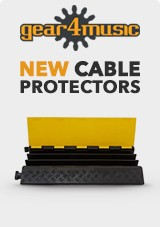 NEW gear4music cable Protectors