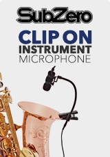SubZero Clip-on Instrument Microphones