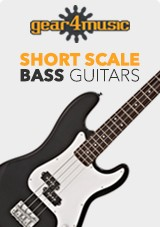 Gear4music Short Scale Bass Guitars
