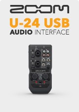 Zoom U-24 USB Audio Interface