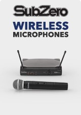 SubZero Wireless Microphone Systems