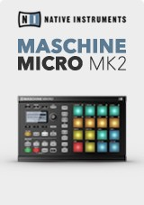 Native Instruments Maschine Mikro MK2, Black